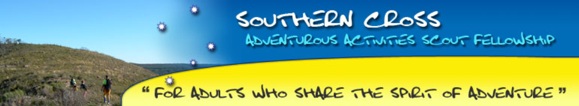 Southern Cross Adventurous Activities Scout Fellowship logo